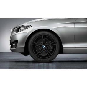 BMW Kompletträder Doppelspeiche 361 schwarz matt 19 Zoll 1er F20 F21 2er F22 F23