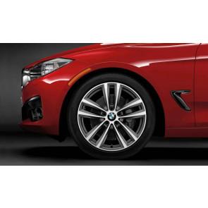 BMW Alufelge Doppelspeiche 466 8J x 19 ET 30 Silber Vorderachse BMW 3er F34 GT