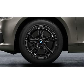BMW Alufelge Doppelspeiche 473 schwarz 7J x 16 ET 52 Vorderachse / Hinterachse 2er F45 F46