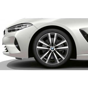 BMW Alufelge Doppelspeiche 690 orbitgrey 8J x 19 ET 26 Vorderachse 8er G14 G15 G16