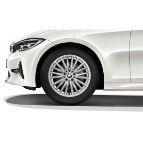 BMW Kompletträder Doppelspeiche 771 reflexsilber 17 Zoll 3er G20 G21 RDCi