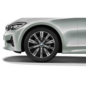 BMW Kompletträder Doppelspeiche 782 orbitgrey 18 Zoll 3er G20 G21 RDCi
