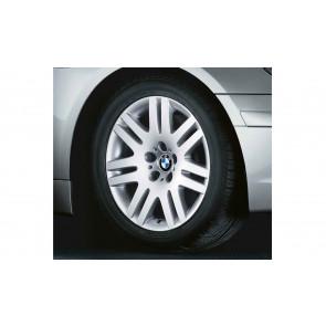 BMW Alufelge Doppelspeiche 93 8J x 18 ET 24 Silber Vorderachse / Hinterachse BMW 7er E65 E66