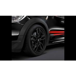MINI Kompletträder JCW Double Spoke R129 schwarz matt 19 Zoll MINI R60 R61 RDC LC