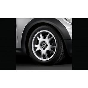 MINI Alufelge Double Spoke 87 5,5J x 16 ET 45 Silber Vorderachse / Hinterachse MINI R50 R52 R53 R55 R56 R57