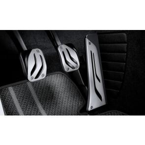 BMW M Performance Edelstahl-Pedalauflagen für manuelles Schaltgetriebe