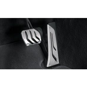 BMW M Performance Edelstahl-Pedalauflagen für Automatikgetriebe