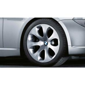 BMW Alufelge Ellipsoid-styling 121 9J x 19 ET 18 Silber Hinterachse BMW 6er E63 E64