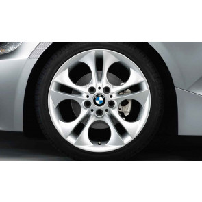 BMW Alufelge Ellipsoid-Styling 202 8,5J x 18 ET 50 Silber Hinterachse BMW Z4 E85 E86