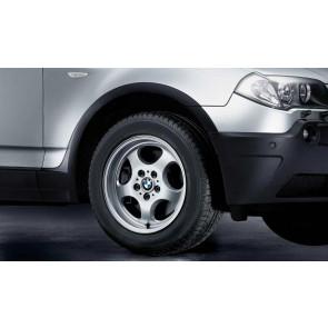 BMW Alufelge Ellipsoid-Styling 109 7J x 17 ET 39 Silber Vorderachse / Hinterachse BMW X3 E83