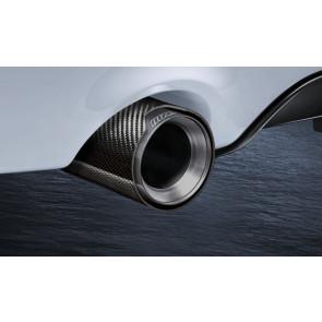 BMW M Performance Endrohrblende Carbon 2er F22 F23 3er F30 F31 4er F32 F33 F36 5er F10 F11 6er F06 Gran Coupe F12 F13
