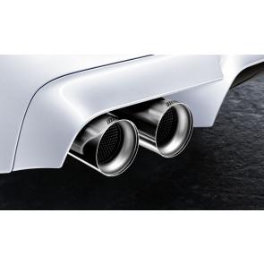 BMW M Performance Endrohrblende Titan 5er M F10 6er M F06 F12 F13