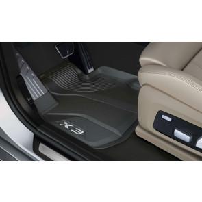BMW Floor Liner Fußmatten vorne X3 G01 iX3 G08 BEV X3M F97