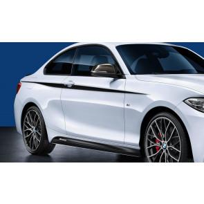 BMW M Performance Akzentstreifen schwarz/silber 1er F20