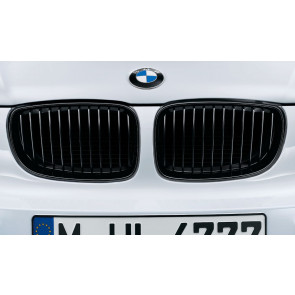 BMW M Performance Frontziergitter schwarz 1er E81 E82 E87 E88
