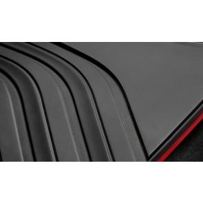 BMW Allwetterfußmatten hinten Sport anthrazit mit rotem Rand 2er F45 ActiveTourer