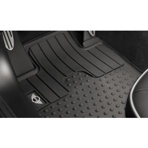 MINI Satz Allwettermatten vorne mit MINI Logo für R55 R56 R57 R58 R59 bis 08/2011
