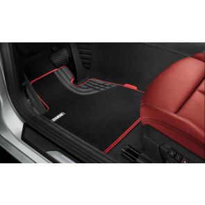 BMW Fußmatten Textil Sport Line vorne 1er F20 F21 2er F22 F23 M2 F87
