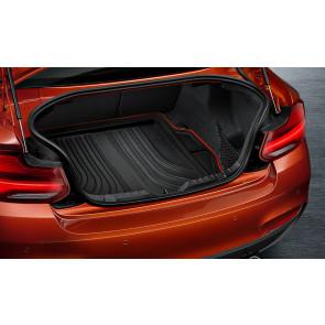 BMW Gepäckraumformmatte Sport schwarz mit rotem Rand 2er F22 M2 F87