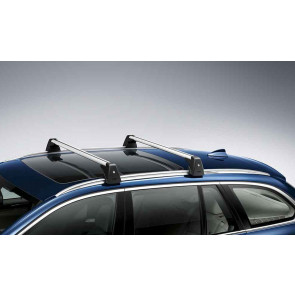 BMW Grundträger abschließbar 3er E91 Touring mit Flachreling