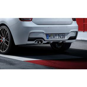 BMW M Performance Heckdiffusor einbordig-zweiflutig 1er F20 F21