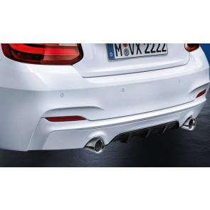 BMW M Performance Heckdiffusor zweibordig-einflutig 2er F22 F23