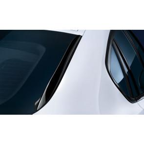 BMW M Performance Heckfinnen hochglanz schwarz X6 F16 M F86