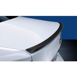 BMW M Performance Heckspoiler schwarz matt 5er G30