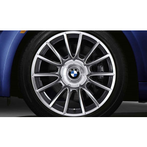 BMW Alufelge Individual V-Speiche 152 silber 9J x 19 ET 18 Hinterachse 6er E63 E64