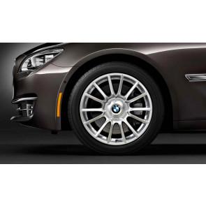 BMW Alufelge Individual V-Speiche 228 silber 9J x 19 ET 39 Hinterachse 3er E90 E91 E92 E93