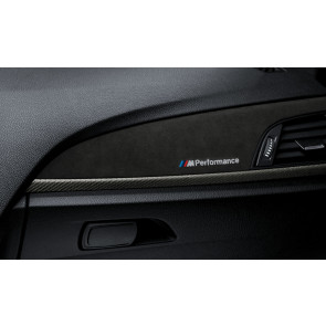 BMW M Performance Interieurleisten in Carbon mit Alcantara 4er F33