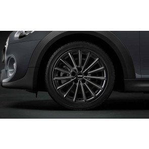MINI Alufelge JCW Multi Spoke 505 liquid black 7J x 17 ET 54 Vorderachse / Hinterachse F55 F56 F57