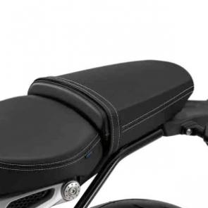 Komfortsoziussitz, schwarz