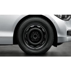 BMW Winterkompletträder Stahlrad 12 schwarz 17 Zoll X1 E84