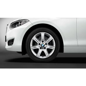 BMW Alufelge Sternspeiche 377 7J x 16 ET 40 silber Vorderachse / Hinterachse BMW 1er F20 F21 2er F22 F23