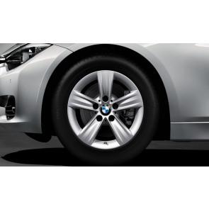 BMW Winterkompletträder Sternspeiche 391 silber 16 Zoll 3er F30 F31 4er F32 F33 F36