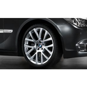 BMW Kompletträder Doppelspeiche 238 silber 20 Zoll 5er F07 7er F01 F02 F04 RDC LC