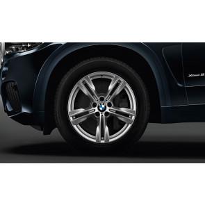 BMW Alufelge M Doppelspeiche 467 silber 10J x 19 ET 21 Hinterachse X5 F15