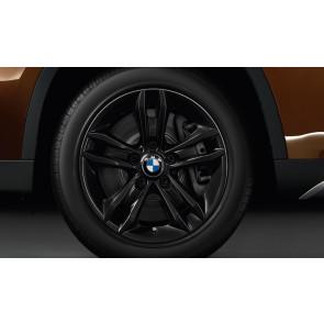 BMW Alufelge Sternspeiche 319 schwarz 7,5J x 17 ET 34 Vorderachse / Hinterachse X1 E84