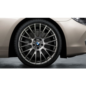 BMW Kompletträder Kreuzspeiche 312 ferricgrey 20 Zoll 5er F10 F11 6er F06 F12 F13 RDC LC