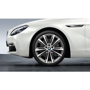 BMW Kompletträder M Performance V-Speiche 464 ferricgrey 20 Zoll 5er F10 F11 6er F06 F12 F13