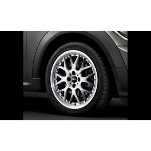 MINI Kompletträder Cross Spoke R90 silber 16 Zoll MINI R50 R52 R55 R56 R57