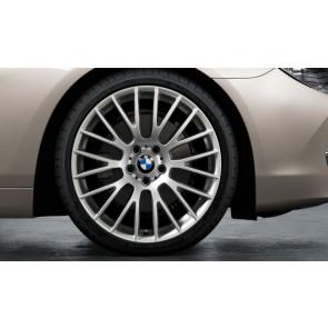 BMW Kompletträder Kreuzspeiche 312 silber 20 Zoll 5er F10 F11 6er F06 F12 F13