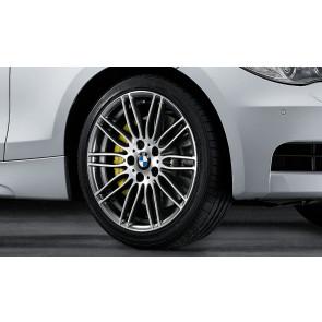 BMW Kompletträder Doppelspeiche Performance 269 bicolor (ferricgrey / glanzgedreht) 18 Zoll 1er E81 E82 E87 E88