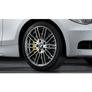 BMW Alufelge Doppelspeiche Performance 269 8J x 19 ET 37 Bicolor (Ferricgrey / glanzgedreht) Vorderachse BMW 3er E90 E91 E92 E93