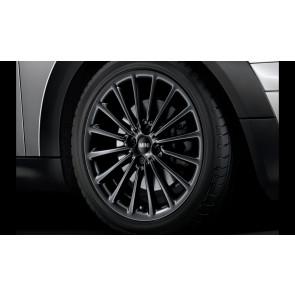 MINI Kompletträder Multi Spoke R108 schwarz matt 17 Zoll MINI R50 R52 R53 R55 R56 R57 R58 R59