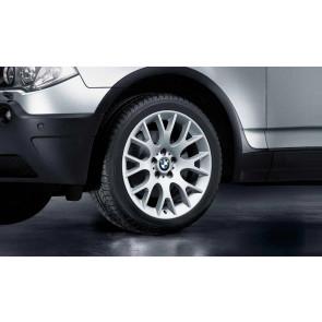 BMW Kompletträder Kreuzspeiche 145 silber 19 Zoll X3 E83