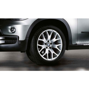 BMW Alufelge Kreuzspeiche 177 silber 11J x 20 ET 37 Hinterachse X5 E70 F15 X6 F16