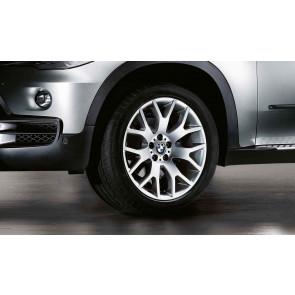 BMW Kompletträder Kreuzspeiche 177 silber 18 Zoll X5 E70 F15