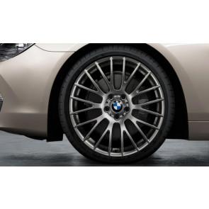 BMW Alufelge Kreuzspeiche 312 ferricgrey 8,5J x 20 ET 33 Vorderachse 5er F10 F11 6er F06 F12 F13